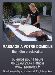 Massage à domicile sur la Baule et sa région